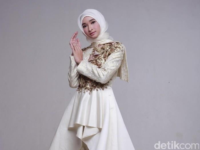 Bella Almira, hijabers yang menjadi salah satu brand ambassador Garnier. Foto: Zaky Akbar