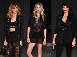 <i>Sexy in Black</i> ! Suki Waterhouse, Lily Donaldson dan Penelope Cruz