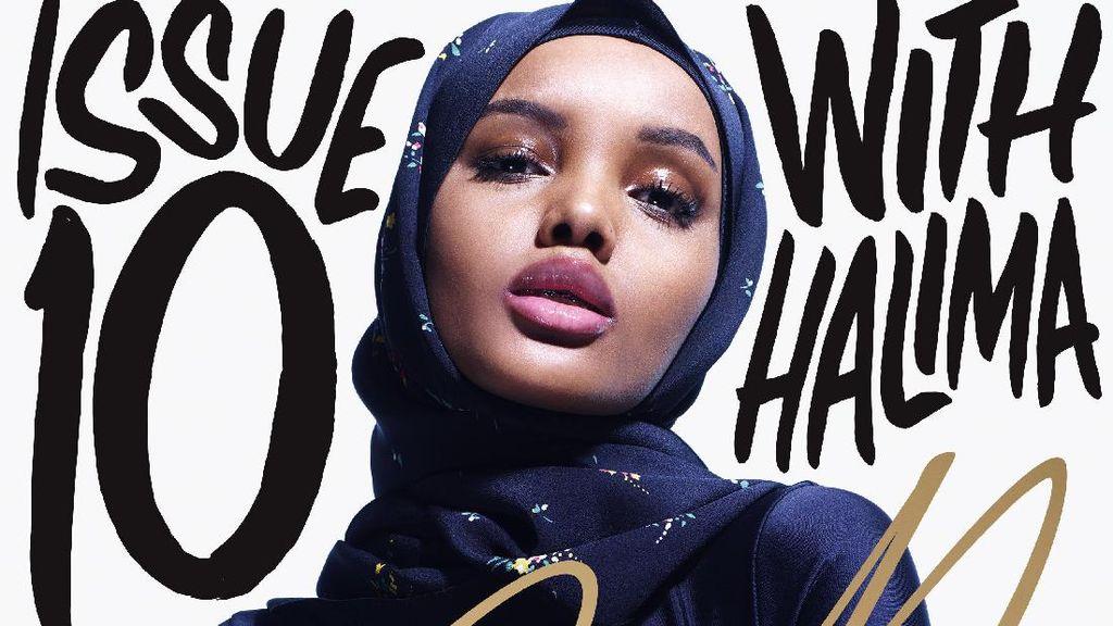 Model Berhijab Halima Aden Tampil di Sampul Majalah Mantan Editor Vogue