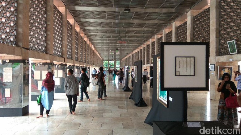 Milad Ke-39, Pengurus Masjid Istiqlal Gelar Pameran Sejarah