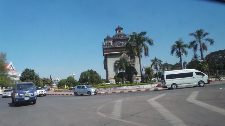 Ilustrasi Vientiane di Laos (Masaul/detikTravel)