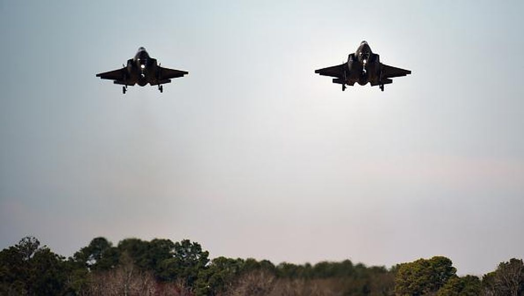 AS Umumkan Penjualan 105 Jet Tempur Siluman F-35 ke Jepang