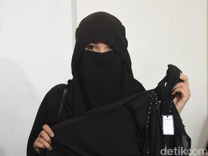 Indadari saat ditemui di Masjid Al Azhar
