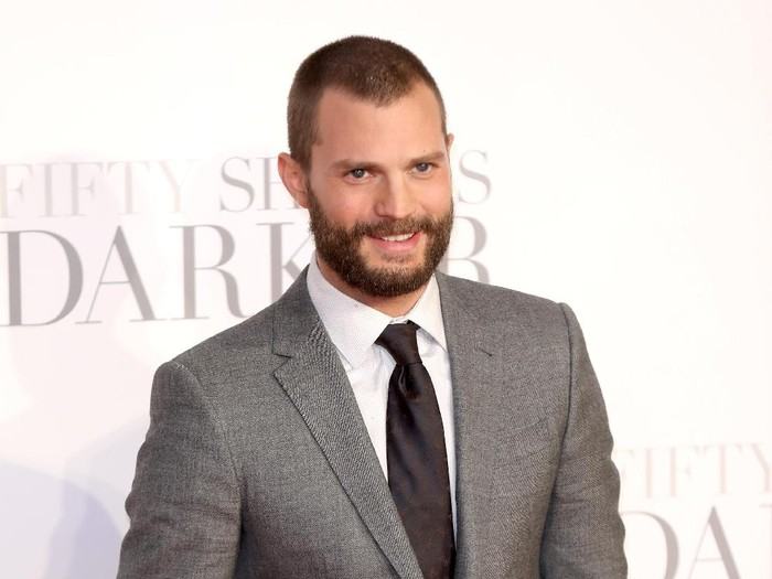 LONDON, ENGLAND - FEBRUARY 09:  Jamie Dornan attends the UK Premiere of Fifty Shades Darker at the Odeon Leicester Square on February 9, 2017 in London, United Kingdom.  (Photo by Tim P. Whitby/Getty Images)