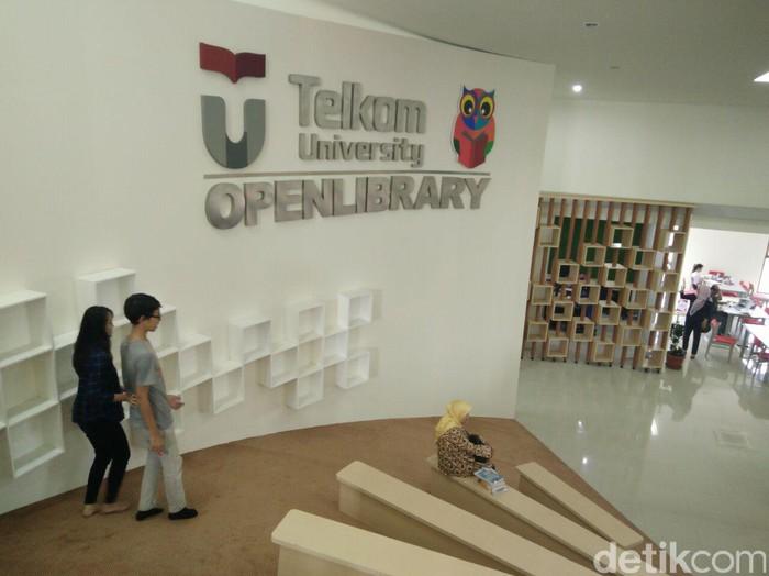 Peresmian Open Library Telkom University