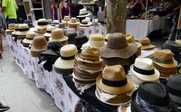 Kerajinan topi di Paddington Market (Wahyu/detikTravel)