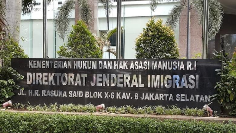 Kantor Dirjen Imigrasi/Foto: Istimewa