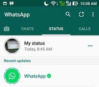 Ini Cara Buat Status Foto Atau Video Di Whatsapp