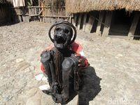Mumi Suku Dani di Lembah Baliem, Wamena (Afif Farhan/detikcom)