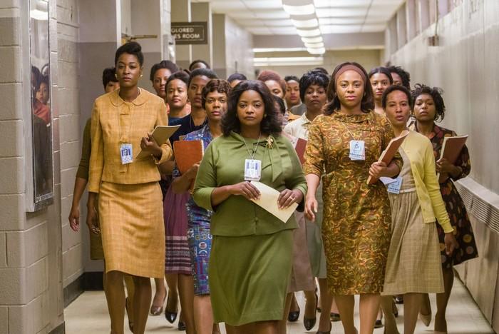 Film tentang tiga wanita berkulit hitam yang berada di balik keberhasilan misi NASA di tahun 1961