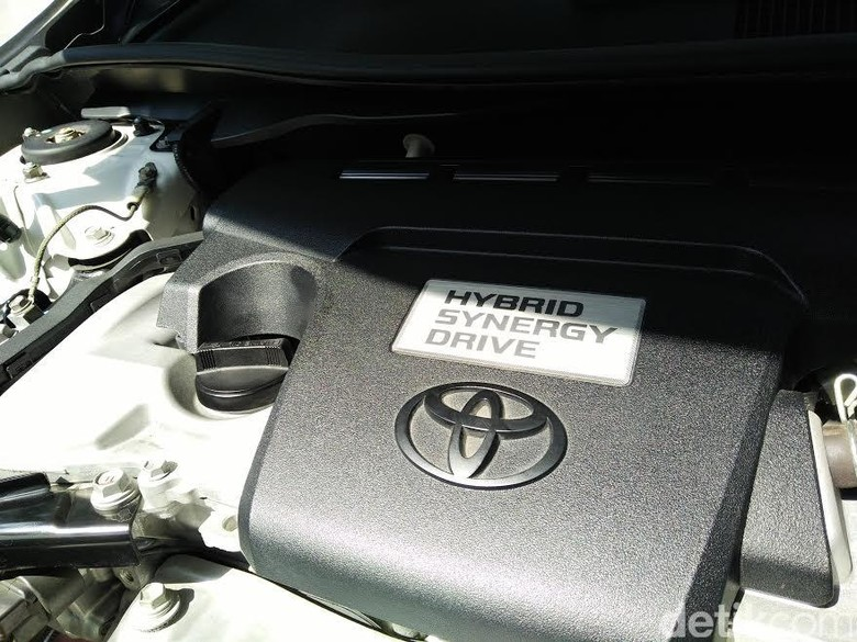 Toyota hybrid. Foto: detikOto