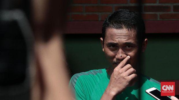 Ricky Fajrin diplot sebagai bek tengah di Timnas Indonesia.