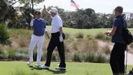 Habiskan Waktu Bermain Golf, Donald Trump Disentil Hillary