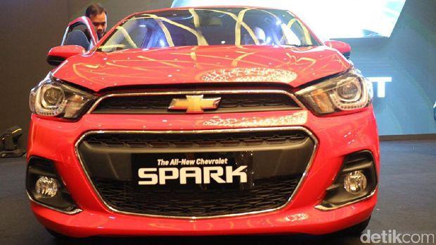 Ilustrasi Chevrolet Spark model 2017