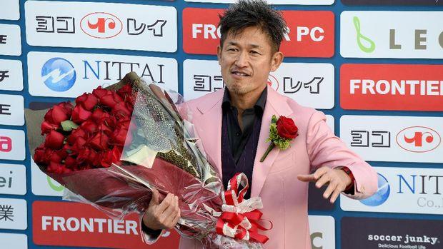 Kazuyoshi Miura perpanjang kontrak bersama Yokohama FC. (