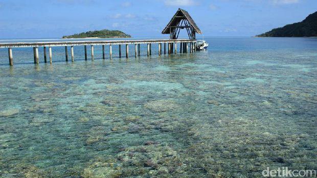 Pulau Bawah di Anambas