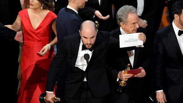 Pembacaan Best Picture Kacau, Akuntan Oscar Minta Maaf