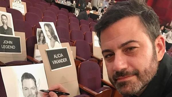 Permusuhan Jimmy Kimmel dan Matt Damon Berlanjut di Oscar 2017