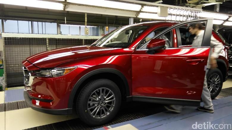Pabrik mobil Mazda di Jepang Foto: Muhammad Nur Abdurrahman
