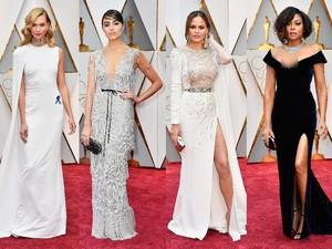 Pesona Para Aktris Cantik di Red Carpet Oscar 2017