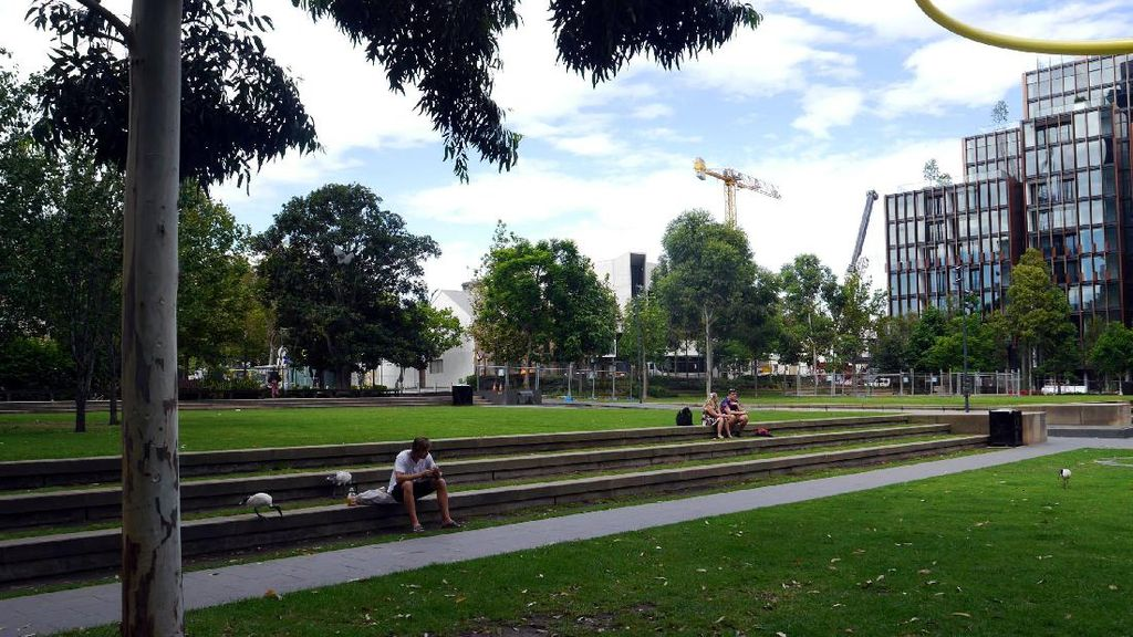 Bukan New York, Ini Central Park-nya Sydney