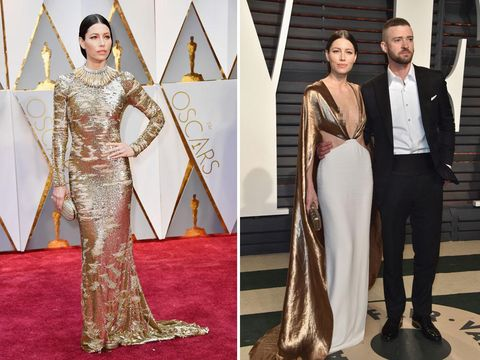 Foto: Transformasi Gaya Selebriti di After Party Oscar 2017