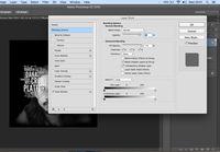 Membuat bayangan typography.