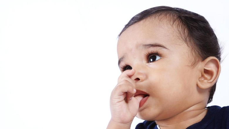 Tips Mengatasi Bayi Tumbuh Gigi/ Foto: thinkstock