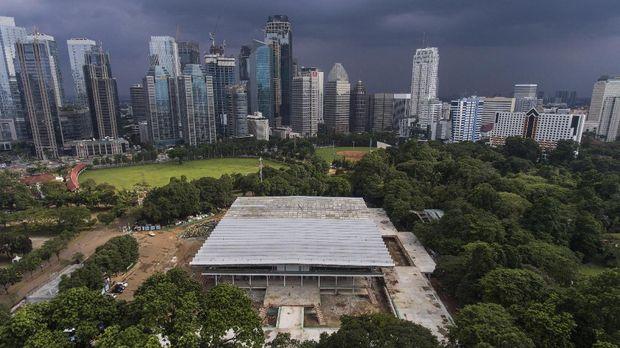 Istora Senayan merupakan venue yang masih menjadi bagian kompleks olahraga Gelora Bung Karno. (