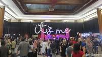 Penonton Konser Perdana Bunga Citra Lestari Mulai Penuhi Venue
