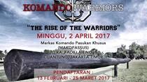 Jelang HUT, Kopassus Gelar Ajang Lomba Lari Komando Warriors