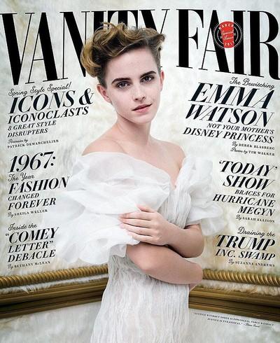 Ikon Feminist Emma Watson Tampil Seksi Di Vanity Fair