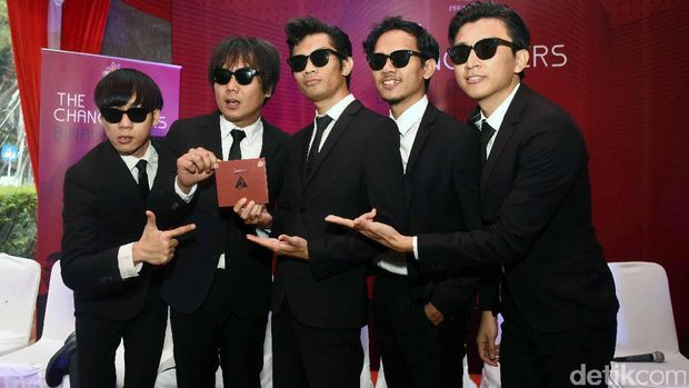 The Changcuter saat rilis album di Cikini.