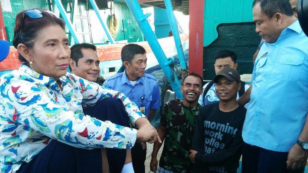 Susi Kaget Masih Ada Nelayan yang Tak Punya Asuransi