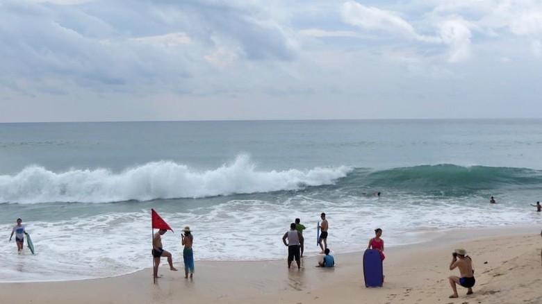 Ilustrasi turis di Bali (Afif Farhan/detikcom)