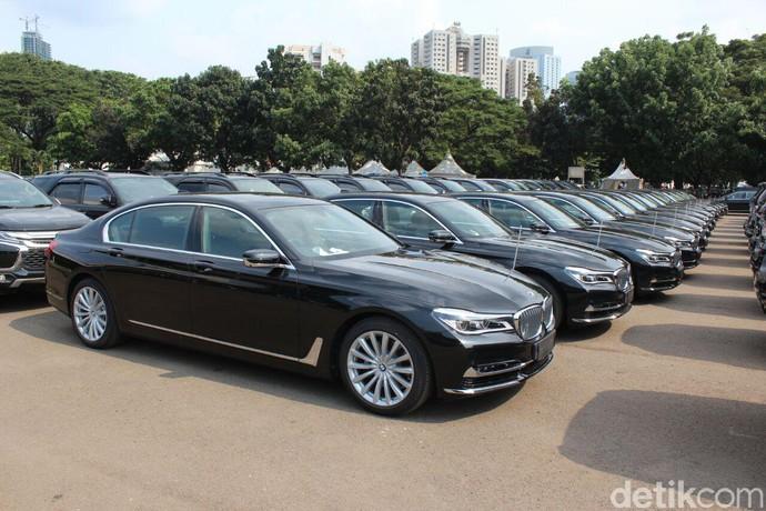 BMW Seri 7 untuk 15 Kepala Negara Peserta KTT IORA