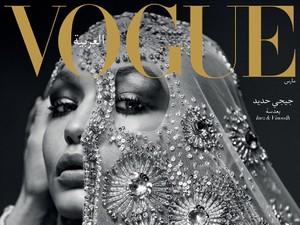 Tampil di Debut Vogue Arabia, Gigi Hadid Cantik Berkerudung
