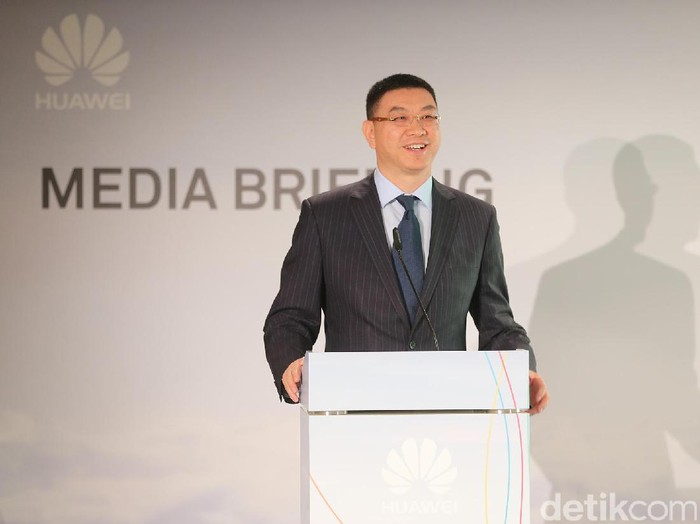 Margaret Hu, President of Huawei Wireless Network Marketing Departement. Foto: mag/detikINET