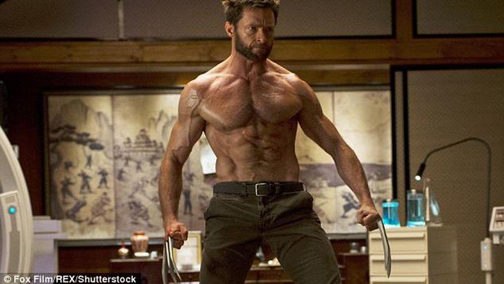 Usai Jalani Peran Wolverine, Hugh Jackman Rayakan Berakhirnya Diet Ketat