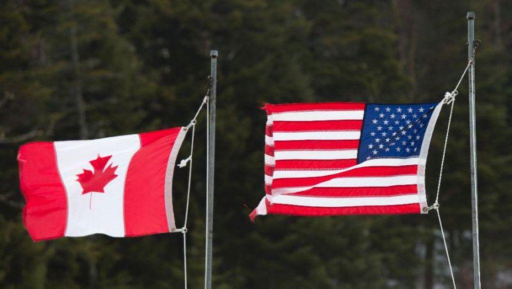 Kanada-AS Perpanjang Pembatasan Perjalanan di Batas Negara Hingga 21 Juni