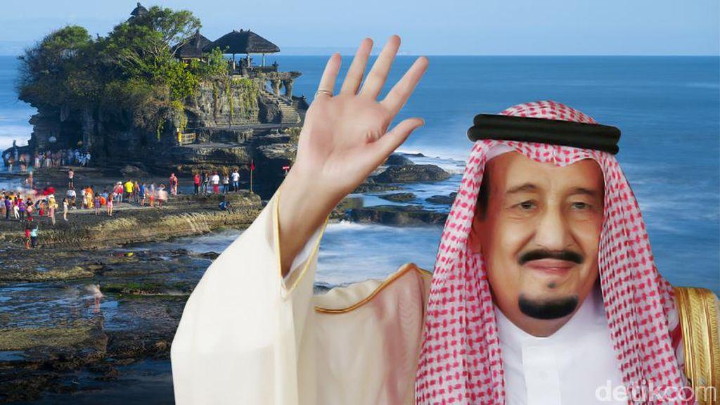 Rombongan Raja Salman Pesan 300 Kamar Hilton Nusa Dua, Ini Tarifnya