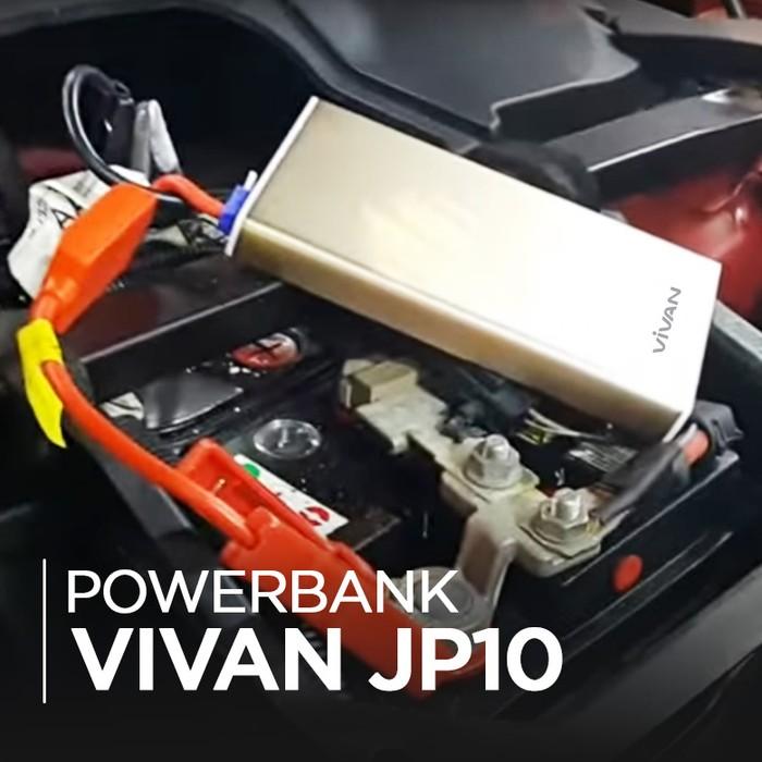 Vivan Hadirkan Powerbank Yang Bisa Jadi Jumper Aki Pada Kendaraan
