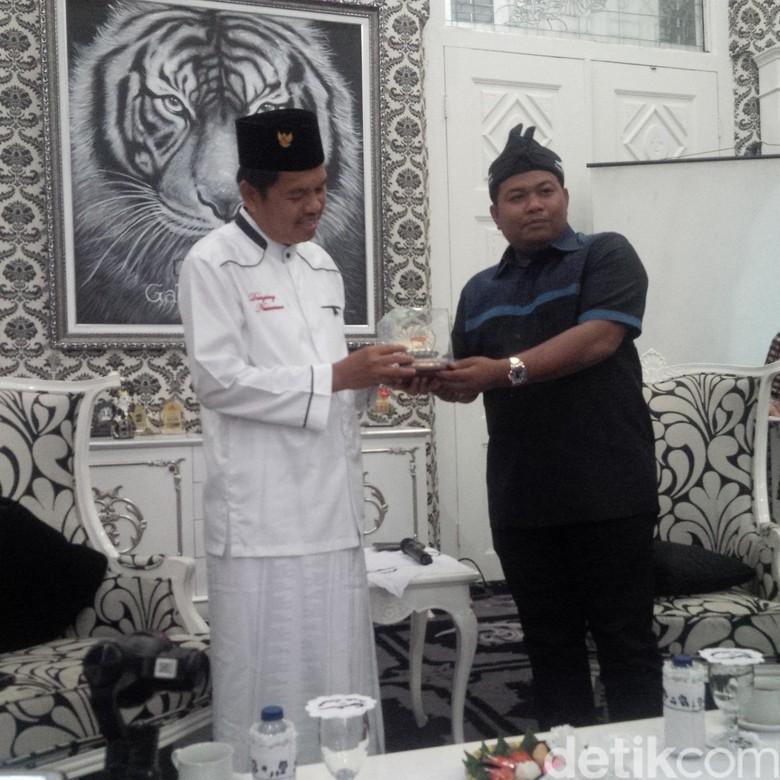 Wali Kota Tanjungbalai Kepincut Taman Air Mancur Milik Purwakarta