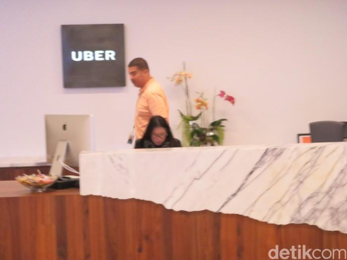 Kantor Uber. Foto: Maikel Jefriando/detikFinance