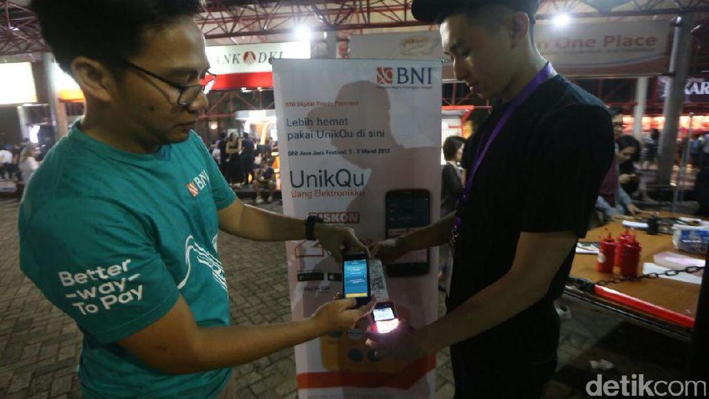 Di Ajang Java Jazz, BNI Tawarkan Produk Transaksi Non Tunai