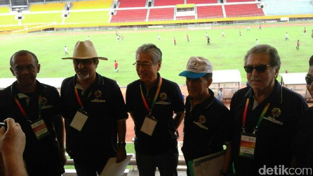 Dewan Olimpiade Asia Tinjau Jakabaring Sport City