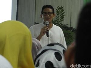 Di Seminar Muhammadiyah, Sandiaga Berkisah soal Nama Tengahnya