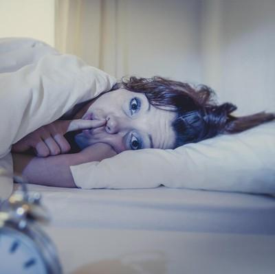 Ilustrasi wanita susah tidur (Foto: Thinkstock)