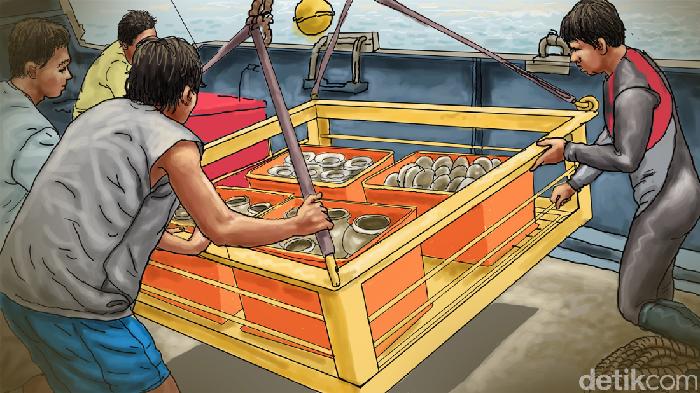 harta karun bawah laut