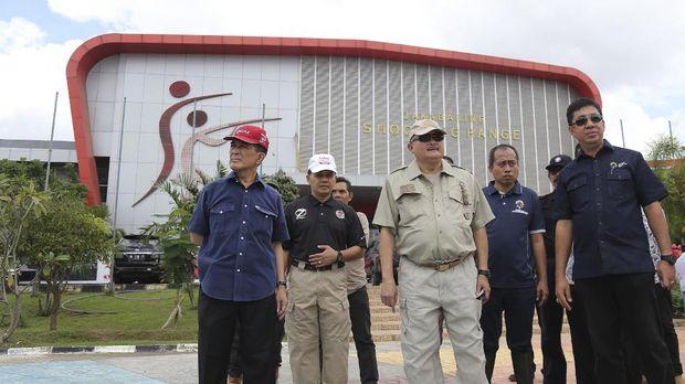 Gubernur Palembang Alex Noerdin antusiasi menyambut gelaran Asian Games 2018.